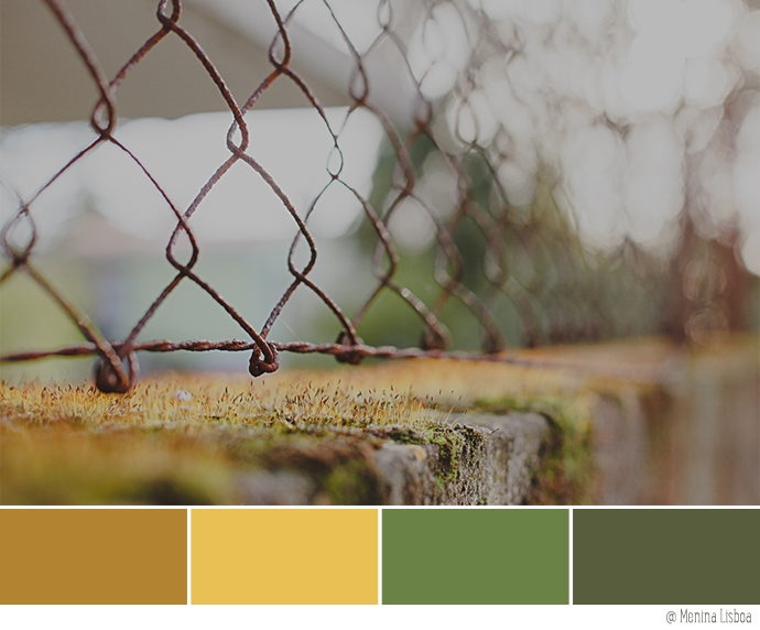 Color Palette of the Week :: Mustard Yellow + Mossy Green